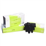 Black Disposable Gloves-Large