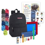 Backpack w/School Kit